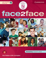 Face2face Elementary Student's Book with CD-ROM / Audio CD and Workbook Pack Italian Edition