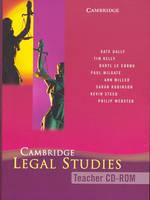 Cambridge Legal Studies Teacher CD-Rom (CD-ROM)