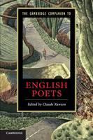 Cambridge Companions to Literature: The Cambridge Companion to English Poets (Paperback)