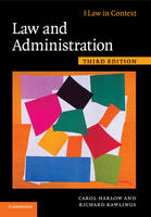 Law and Administration - Law in Context (Paperback)