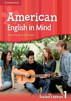 American English in Mind Level 1 Teacher's edition (Spiral bound)