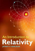 An Introduction to Relativity (Paperback)