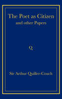 The Poet as Citizen and Other Papers (Paperback)