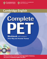 Complete: Complete PET Workbook with answers with Audio CD