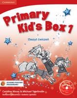 Primary Kid's Box Level 1 Activity Book with CD-ROM Polish edition