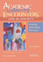 Academic Listening Encounters: Life in Society Class Audio CDs (3): Listening, Note Taking, and Discussion (CD-Audio)