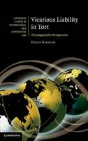 Vicarious Liability in Tort: A Comparative Perspective - Cambridge Studies in International and Comparative Law (Hardback)