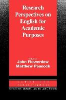 Cambridge Applied Linguistics: Research Perspectives on English for Academic Purposes (Paperback)