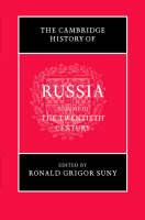 The Cambridge History of Russia: The Twentieth Century Volume 3 (Hardback)