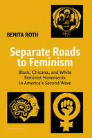 Separate Roads to Feminism: Black, Chicana, and White Feminist Movements in America's Second Wave (Hardback)