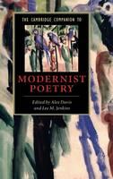 The Cambridge Companion to Modernist Poetry - Cambridge Companions to Literature (Hardback)