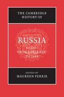 The Cambridge History of Russia 3 Volume Hardback Set - The Cambridge History of Russia