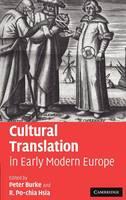 Cultural Translation in Early Modern Europe (Hardback)