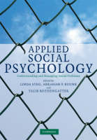Applied Social Psychology: Understanding and Managing Social Problems (Hardback)