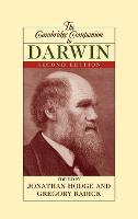 Cambridge Companions to Philosophy: The Cambridge Companion to Darwin (Hardback)