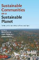 Sustainable Communities on a Sustainable Planet: The Human-Environment Regional Observatory Project (Hardback)