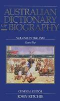 Australian Dictionary of Biography V15 (Hardback)