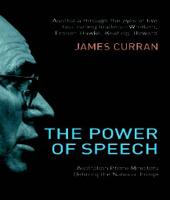 The Power Of Speech: Australian Prime Ministers Defining the National Image (Paperback)