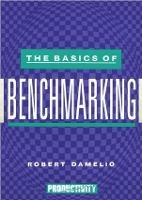 The Basics of Benchmarking (Paperback)