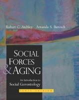 Social Forces and Aging (Hardback)