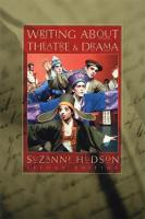 Writing About Theatre and Drama (Paperback)