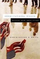 Constitutional Rights: Myths and Realities (Paperback)