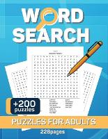 Word Search Puzzles Book for Adults: Crossword Puzzle Book For Adult, Activity Book Activities for Seniors Large Print with a Huge Supply of Puzzles (Paperback)