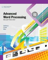 Advanced Word Processing, Lessons 56-110: Microsoft Word 2010 (Paperback)