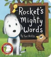Rocket's Mighty Words (Board book)