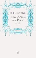 Tolstoy's 'War and Peace': A Study (Paperback)