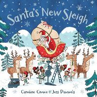 Santa's New Sleigh (Hardback)