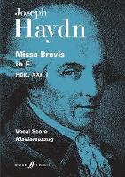 Missa Brevis in F Major (Paperback)
