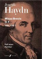 Missa Brevis In F (Paperback)