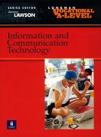 Vocational A-level Information and Communication Technology (Paperback)