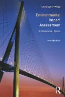 Environmental Impact Assessment: A Comparative Review (Paperback)
