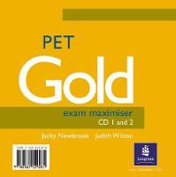 PET Gold Exam Maximiser CD 1-2 - Gold (CD-Audio)