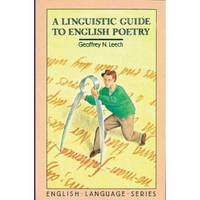 A Linguistic Guide to English Poetry (Paperback)