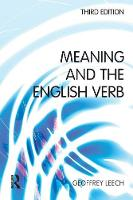 Meaning and the English Verb (Paperback)