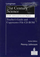 Science for 21st Century GCSE Additional Science Higher Teachers Guide & Copymasters on CD (CD-ROM)