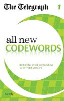 The Telegraph: All New Codewords 1 - The Telegraph Puzzle Books (Paperback)