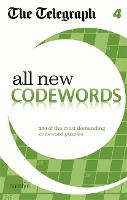 The Telegraph All New Codewords 4 - The Telegraph Puzzle Books (Paperback)