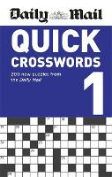 Daily Mail Quick Crosswords Volume 1 - The Daily Mail Puzzle Books (Paperback)