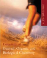 Essentials of General, Organic, and Biological Chemistry (Hardback)