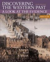 Discovering the Western Past: Discovering the Western Past To 1789 Volume I (Paperback)
