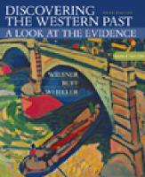 Discovering the Western Past: Discovering the Western Past From 1789 Volume II (Paperback)