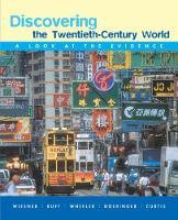 Discovering the Twentieth-Century World: A Look at the Evidence (Paperback)