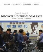 Discovering the Global Past: A Look at the Evidence, Volume II: Since 1400 (Paperback)