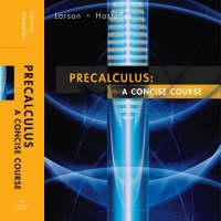 Precalculus: Student Text: A Concise Course (Hardback)