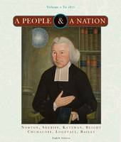 A People and a Nation: To 1877 v. 1