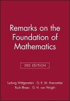 Remarks on the Foundation of Mathematics (Paperback)
